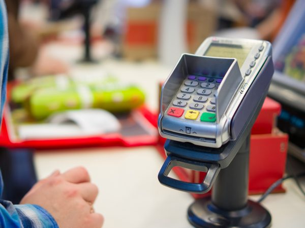 A piece of point of sale (POS) equipment is a product we service at TSI.